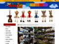 Náhled webu Dřevěný svět hraček