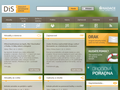 Náhled webu Drogový Informační Server