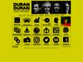 Náhled webu Duran Duran