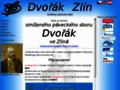 Náhled webu Smíšený pěvecký sbor Dvořák Zlín