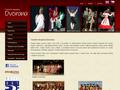 Náhled webu Taneční soubor Dvorana Praha