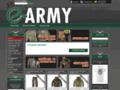 Náhled webu e-army.cz