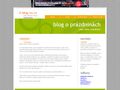Náhled webu E_blog
