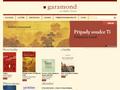 Náhled webu e-Garamond