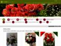 Náhled webu Květiny Bella
