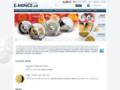 Náhled webu E-mince