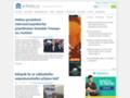 Náhled webu Internetový politologický server a časopis e-Polis