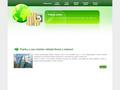 Náhled webu Online půjčky ihned