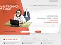Náhled webu e-technologie
