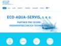 Náhled webu Ing. Michal Pražák, Eco - Aqua - Servis