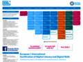 Náhled webu European Computer Driving Licence (ECDL)