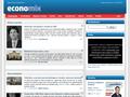 Náhled webu ECONOMIX - magazín pro studenty VŠE