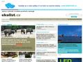 Náhled webu EkoList po drátě
