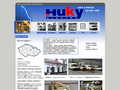 Náhled webu Huky. s.r.o.