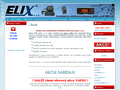 Náhled webu Elix, s.r.o.