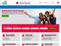 Náhled webu elvis - jazyková škola