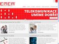 Náhled webu Emea Telecom