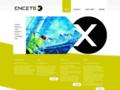 Náhled webu Encetex s.r.o.