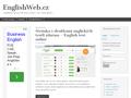 Náhled webu Angličtina zdarma, informace, odkazy, tipy, doporučení…