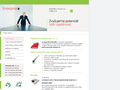 Náhled webu Enterprise plc, s. r. o.