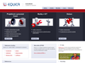 Náhled webu Equica