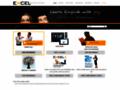 Náhled webu eXcel - jazykové centrum