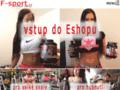 Náhled webu F-sport