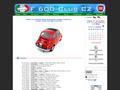 Náhled webu F 600 Club CZ