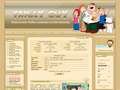 Náhled webu Family Guy