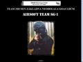 Náhled webu Airsoft team SG-1