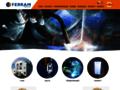 Náhled webu Ferram, a.s.