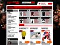 Náhled webu Sportovní potřeby pro bojové sporty