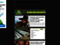 Náhled webu Geocaching & série Filmová místa