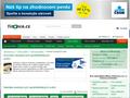 Náhled webu Finance.cz - srovnání
