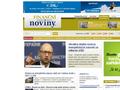 Náhled webu Finanční Noviny