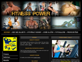 Náhled webu Fitness Power