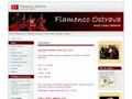 Náhled webu Taneční studio Flamenco Ostrava
