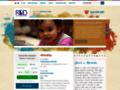 Náhled webu Fond ohrožených dětí