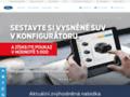 Náhled webu Ford