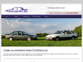 Náhled webu Ford Sierra klub