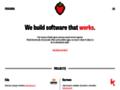 Náhled webu Faust - Informační systém pro auditory.
