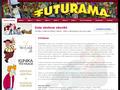 Náhled webu Futurama