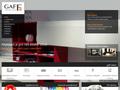 Náhled webu GAFF interier
