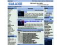 Náhled webu Galaxie