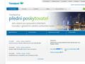 Náhled webu Galileo Česká republika a Slovenská republika
