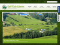 Náhled webu Golf Club Liberec