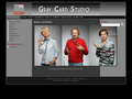 Náhled webu GreyCard Studio