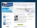 Náhled webu Česká národní genografická databáze