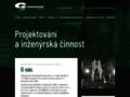 Náhled webu Geoengineering Ostrava