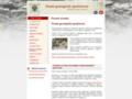 Náhled webu Česká geologická společnost